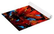 Fall Reds Yoga Mat