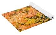 Fall Tree Art Print Autumn Leaves Yoga Mat