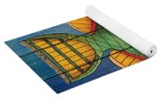 Fanciful Sea Creatures-jp3826 Yoga Mat