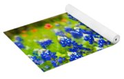 Fence Me In With Flowers Yoga Mat