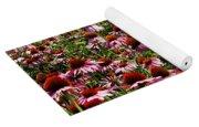 Field Of Echinacea Yoga Mat