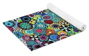 Field Of Blooms Yoga Mat