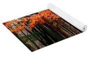 Fiery Leaves Yoga Mat