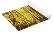 Fine Wine Cafe Golden Woods Yoga Mat