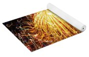 Fire Flower Yoga Mat