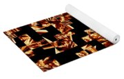 Fire Jumble Yoga Mat