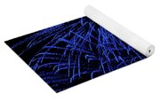 Firework Blues Yoga Mat
