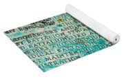 First Infantry Division Memorial Plaque Yoga Mat