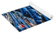 Fishing Boats In Morocco Yoga Mat