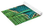 Fishing Net Portrait Yoga Mat