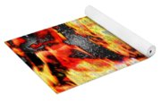 Flame Gems Yoga Mat