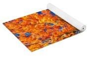 Flaming Maple - Paint Yoga Mat