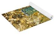 Flash Of Emerald Yoga Mat