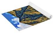 Floe Lake Painted Yoga Mat