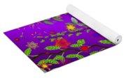 Floral Fantasy 122410 Yoga Mat