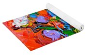 Floral Miniature - Abstract 0115 Yoga Mat
