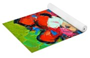 Floral Miniature - Abstract 0315 Yoga Mat