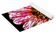 Floral Red And White Painting  Yoga Mat