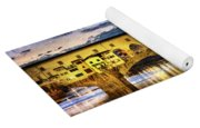 Florence - Ponte Vecchio Sunset From The Oltrarno - Vintage Version Yoga Mat