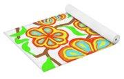 Flower Carnival Yoga Mat