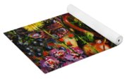 Flower Extravaganza Yoga Mat