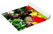 Flower Flames Yoga Mat