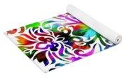 Flower Mandala 4 Yoga Mat