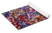 Flower Passion Yoga Mat