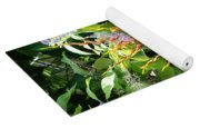 Flower Plants Yoga Mat