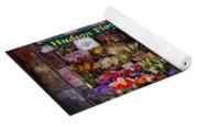 Flower Shop - Ny - Chelsea - Hudson Flower Shop  Yoga Mat