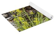 Flower Wood And Rock Yoga Mat