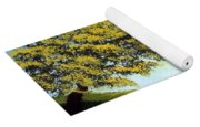 Flowered Fields Yoga Mat