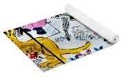 Flowered Mural Yoga Mat