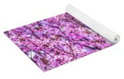 Flowering Plum Blossoms. Yoga Mat