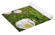 Flowers And Landscapes Along Texas Highway Roadside In Spring Yoga Mat