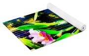 Flowers In Abstract 18 Yoga Mat
