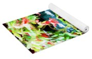 Flowers In Garden 3 Yoga Mat