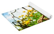Flowers In The Sky Yoga Mat