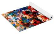 Flowers Of Love Yoga Mat