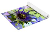 Flowers On The Wall Yoga Mat