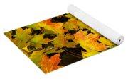 Foliage Fall Yoga Mat