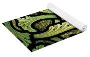 Foliage Pattern Yoga Mat