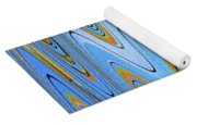 Foot Bridge Abstract Yoga Mat