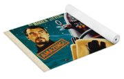 Forbidden Planet In Cinemascope Retro Classic Movie Poster Yoga Mat