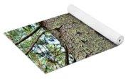 Forest Corrosion Bark Yoga Mat