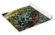 Forest Floral Delight Yoga Mat