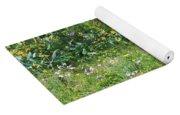 Forest Flowers Landscape Yoga Mat