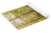Forest Leaf Reflection Yoga Mat