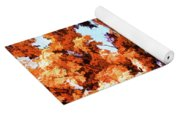 Forest Of Fall Colors Yoga Mat