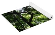 Forest Silhouette Yoga Mat